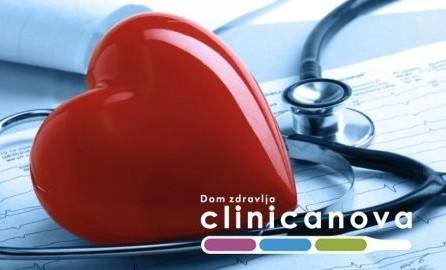 Samo 2490 za kompletan kardiološki pregled + EKG srca + ultrazvuk srca + pulsna oksimetrija i spirometrija u DZ Clinicanova!