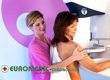 Samo 3500 din EUROMEDIK kompletan pregled dojki (mamografija + ultrazvuk dojki + palpatorni pregled), lokacija Novi Beograd!