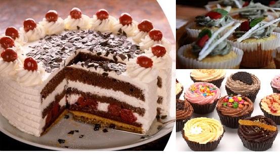 Samo 2000 din slano-slatki PAKET ZA PROSLAVE: 2 kg torte po izboru + 1kg slani + 1kg slatki cup cakes (mini tortice) sa dostavom