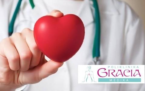 Samo 2290 din. kompletan KARDIOLOŠKI pregled sa EKG i ULTRAZVUKOM SRCA u Gracia medici u centru grada!