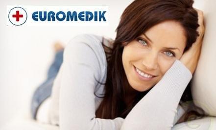 Samo 3890 din EUROMEDIK kompletan ginekološki pregled + UZ DOJKI (kolposkopija, PAPA, VS, UZ), 6 lokacija u gradu!