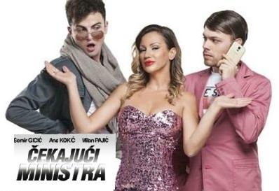 Samo 450 din za predstavu ČEKAJUĆI MINISTRA sa Anom Kokić (Lidijom Vukičević) 28.10.2016. u Akademiji 28!