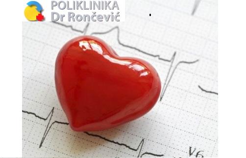 Samo 2490 din KOMPLETAN KARDIOLOŠKI PREGLED, EKG I COLOR DOPPLER SRCA u poliklinci dr Rončević na Vračaru!
