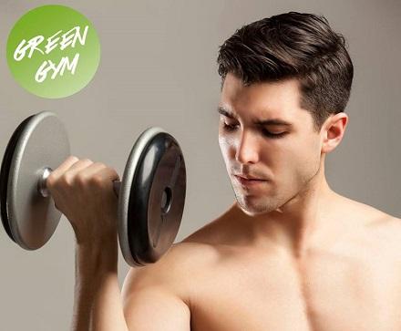 Samo 890 din mesec dana neograničenog korišćenja teretane + kardio program u Green Gym-u na Dorćolu!
