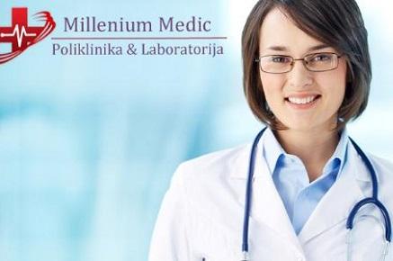 Samo 1290 din preventivni ginekološki paket: ginekološki ultrazvuk + ultrazvuk dojki + palpacija grudi! Millenium Medic, Đeram!