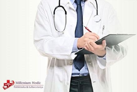 Samo 1700 din pregled lekara opšte prakse + bris grla i nosa + analiza krvne slike + analiza na prisustvo kandide!
